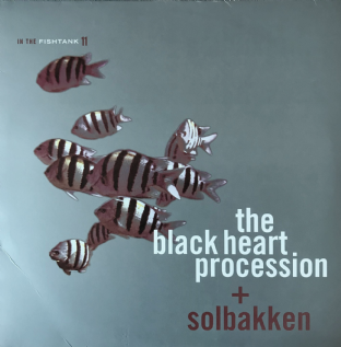 Black Heart Procession ( The) + Solbakken - In The Fishtank 11 (LP) (Silver Vinyl) (EX/VG-)